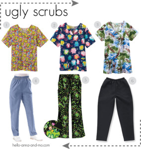 ugly scrubs